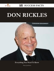 Don Rickles 168 Success Facts - Everything you need to know about Don Rickles ebook by Harry Jacobson