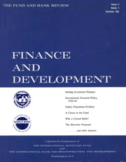Finance & Development, September 1965 ebook by International Monetary Fund. External Relations Dept.