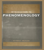 Introduction to Phenomenology ebook by Dermot Moran