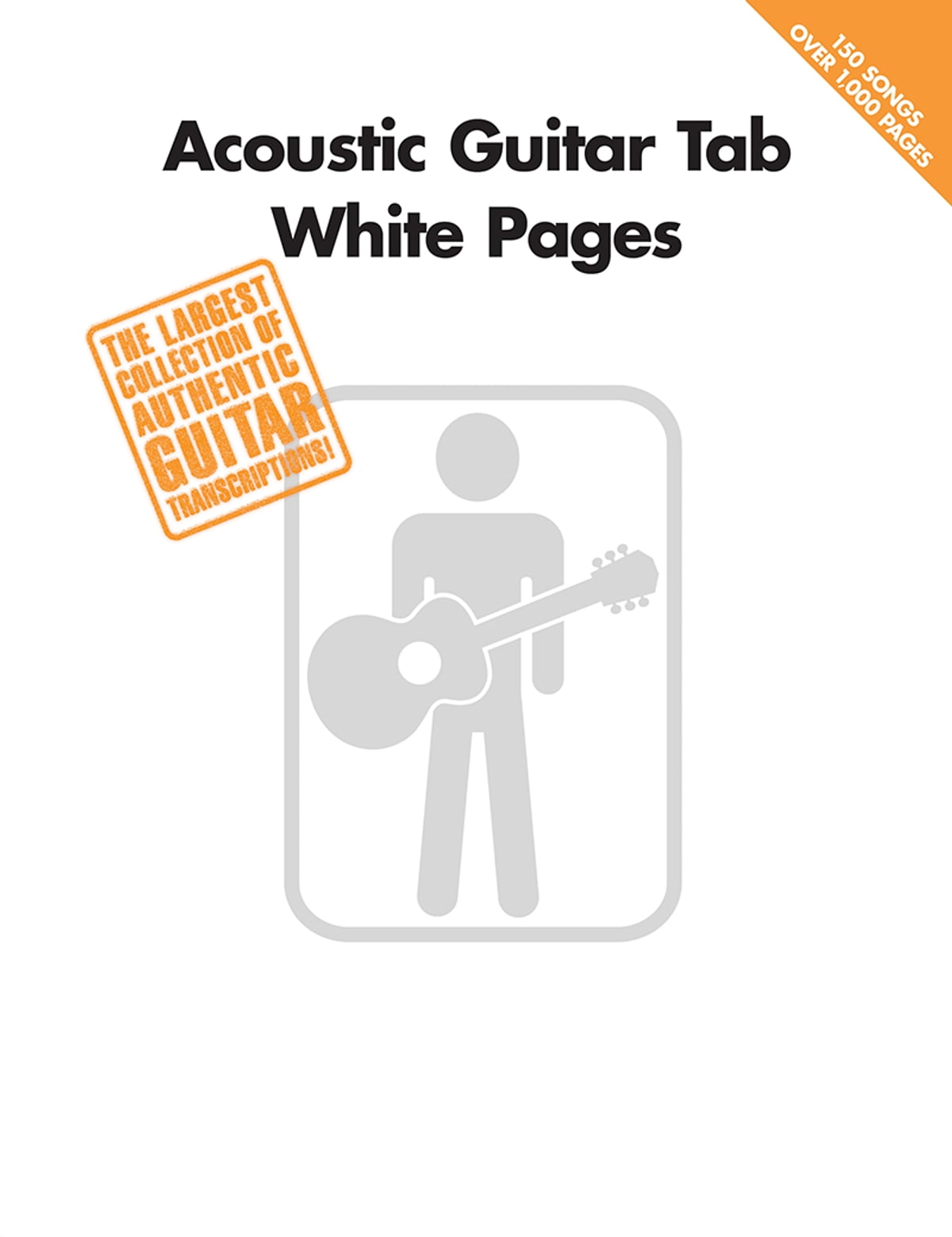 Acoustic Guitar Tab White Pages Songbook Ebook By Hal Leonard Corp