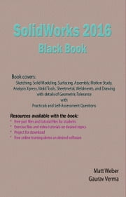 SolidWorks 2016 Black Book ebook by Gaurav Verma