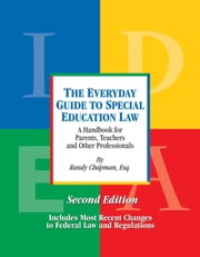 The Everyday Guide to Special Education Law, Second Edition ebook by Kobo.Web.Store.Products.Fields.ContributorFieldViewModel