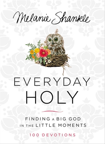 Everyday Holy - Finding a Big God in the Little Moments ebook by Melanie Shankle