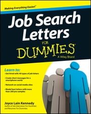 Job Search Letters For Dummies ebook by Joyce Lain Kennedy