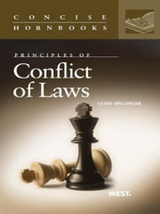 Conflict of Laws (Concise Hornbook Series) ebook by Clyde Spillenger