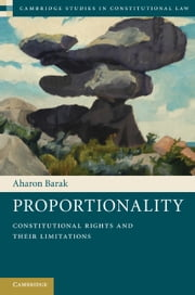 Proportionality ebook by Barak, Aharon
