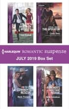 Harlequin Romantic Suspense July 2019 Box Set ekitaplar by Geri Krotow, Marie Ferrarella, Cindy Dees,...