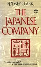 The Japanese Company ebook by Rodney Clark