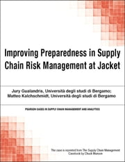 Improving Preparedness in Supply Chain Risk Management at Jacket ebook by Chuck Munson