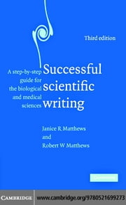 Successful Scientific Writing ebook by Matthews,Janice R.