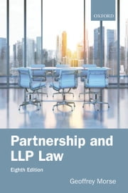 Partnership and LLP Law 8e ebook by Geoffrey Morse