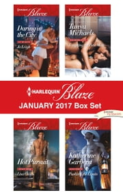 Harlequin Blaze January 2017 Box Set - Daring in the City\Tempting the Best Man\Hot Pursuit\Pushing the Limits ebook by Jo Leigh, Tanya Michaels, Lisa Childs,...