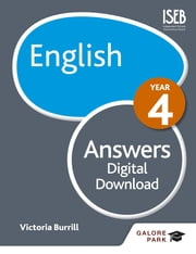 English Year 4 Answers ebook by Victoria Burrill