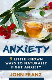 Anxiety - 5 Little Known Ways to Naturally Fight Anxiety ebook by John Franz