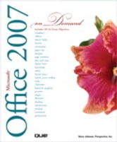 Microsoft Office 2007 On Demand ebook by Steve Johnson,Perspection Inc.