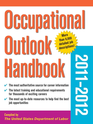 department of labor occupational outlook handbook