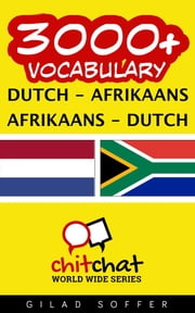 3000+ Vocabulary Dutch - Afrikaans ebook by Kobo.Web.Store.Products.Fields.ContributorFieldViewModel