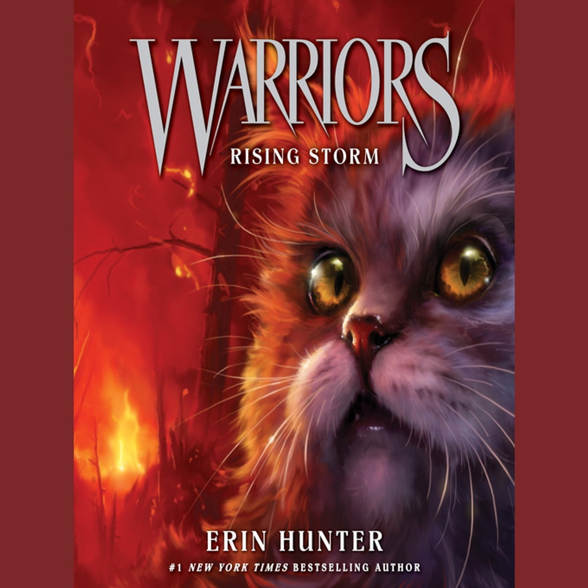 By Erin Hunter Warriors App: Warriors #4: Rising Storm Audiobook By Erin Hunter
