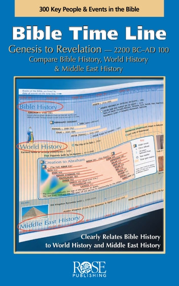 Bible Time Line ebook by Rose Publishing
