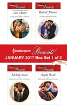 Harlequin Presents January 2017 - Box Set 1 of 2 - An Anthology ebook by Anne Mather, Michelle Smart, Rachael Thomas,...