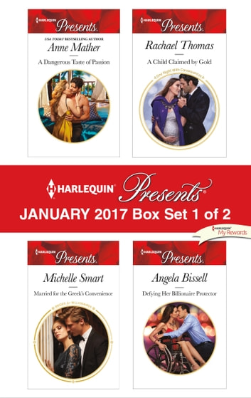 Harlequin Presents January 2017 - Box Set 1 of 2 - An Anthology ekitaplar by Anne Mather,Michelle Smart,Rachael Thomas,Angela Bissell