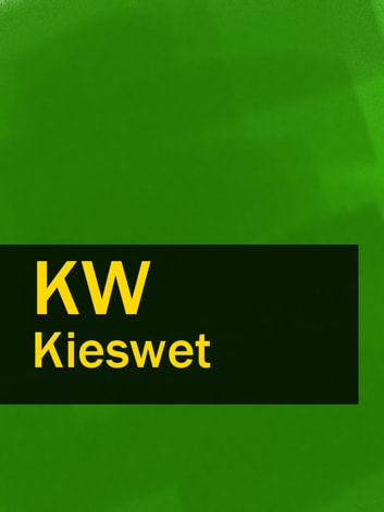 Kieswet - KW ebook by Nederland