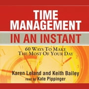 Time Management In An Instant audiobook by Karen Leland, Keith Bailey