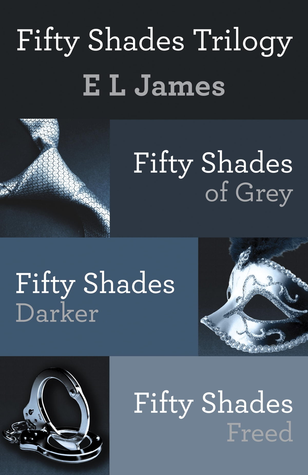 Fifty Shades Trilogy Bundle  Fifty Shades Of Grey; Fifty Shades Darker;  Fifty Shades