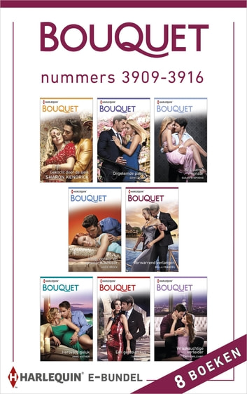 Bouquet e-bundel nummers 3909 - 3916 - 8-in-1 ebook by Sharon Kendrick,Dani Collins,Susan Stephens,Andie Brock,Bella Frances,Anne Mather,Tara Pammi,Cathy Williams