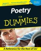 Poetry For Dummies ekitaplar by The Poetry Center, John Timpane