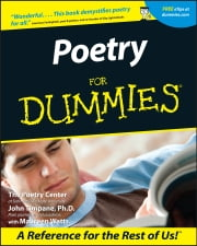Poetry For Dummies ebook by The Poetry Center,John Timpane