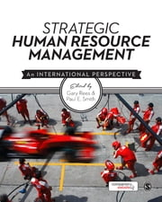 Strategic Human Resource Management - An International Perspective ebook by Gary Rees,Paul E Smith