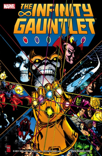 Infinity Gauntlet ebook by Jim Starlin