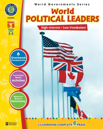 World Political Leaders Gr. 5-8: World Governments Series ebook by Darcy Frisina