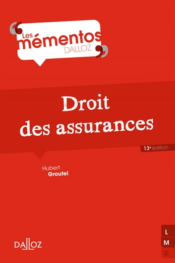 Droit des assurances ebook by Hubert Groutel