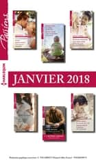 12 romans Passions + 1 gratuit (n°695 à 700 - Janvier 2018) ebook by Collectif