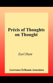 Thoughts on Thought ebook by Hunt, Earl