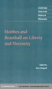 Hobbes and Bramhall on Liberty and Necessity ebook by Hobbes, Thomas
