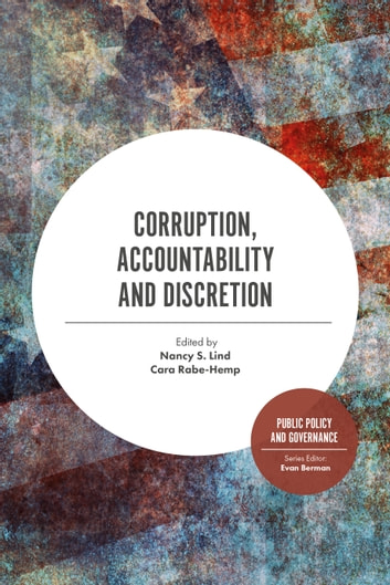 Corruption, Accountability and Discretion ebook by