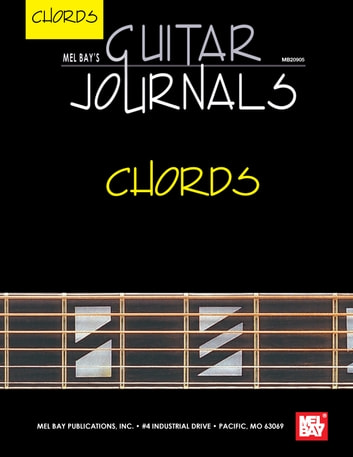 Guitar Journals Chords Ebook By William Bay 9781513402604