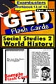 GED Test Prep Social Studies 2: World History Review--Exambusters Flash Cards--Workbook 13 of 13 - GED Exam Study Guide ebook by GED Exambusters