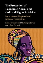 The Protection of Economic, Social and Cultural Rights in Africa - International, Regional and National Perspectives ebook by