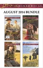 Love Inspired Historical August 2014 Bundle - The Wrangler's Inconvenient Wife\The Cattleman Meets His Match\Protected by the Warrior\A Mother for His Children ebook by Lacy Williams, Sherri Shackelford, Barbara Phinney,...
