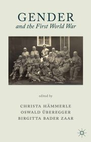 Gender and the First World War ebook by