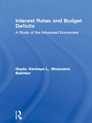 Interest Rates and Budget Deficits - A Study of the Advanced Economies ebook by Kanhaya L. Gupta,Bakhtiar Moazzami