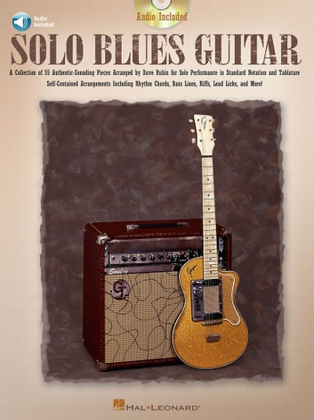 Solo Blues Guitar Music Instruction Ebook By Dave Rubin