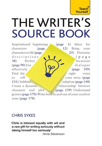 The Writer's Source Book - Inspirational ideas for your creative writing ebook by Chris Sykes