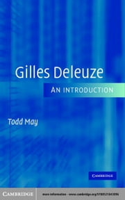 Gilles Deleuze ebook by May, Todd