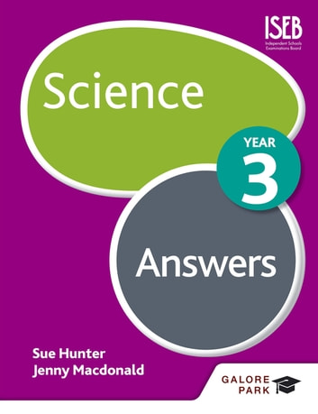 Science Year 3 Answers ebook by Sue Hunter,Jenny Macdonald