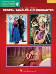 Songs from Frozen, Tangled and Enchanted - Easy Piano Play-Along Volume 32 ebook by Hal Leonard Corp.